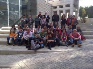 Coop57 Aragón en un Encuentro en Barcelona.
