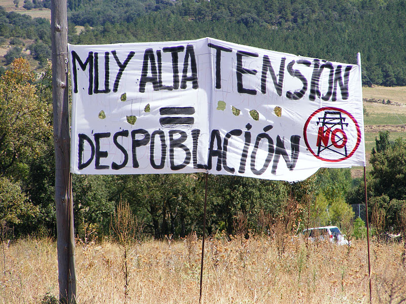 El Alto Aragón y el Pallars Jussá amenazados por el recrecimiento de las Líneas de Alta Tensión