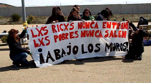 El CSO Kike Mur acoge las actividades previas de la XV Marcha contra la Macrocárcel de Zuera