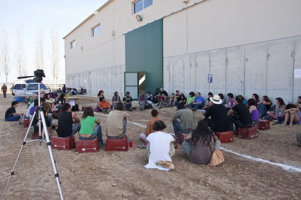 1ª Crónica de la gira Toma la Tierra: 20 días aprendiendo en Aragón