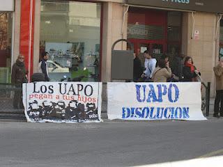 Heraldo de Aragón publica la agresión a tres chicas por parte de la UAPO