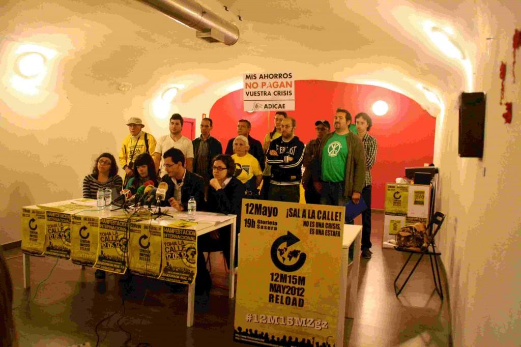 Zaragoza se suma a la movilización global del 12M
