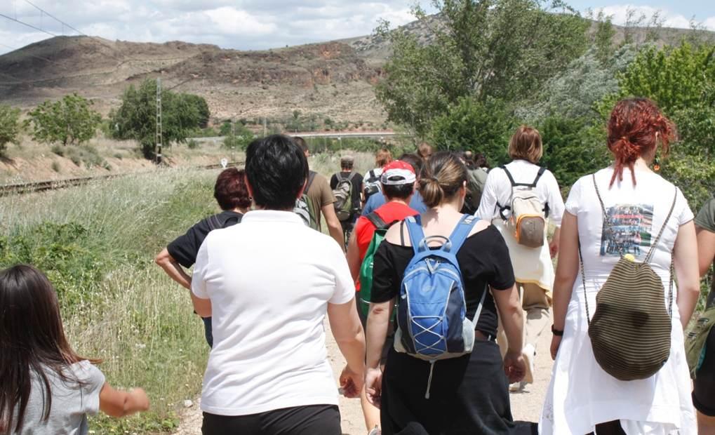 III Marcha por un Jalón Vivo, contra el pantano de Mularroya