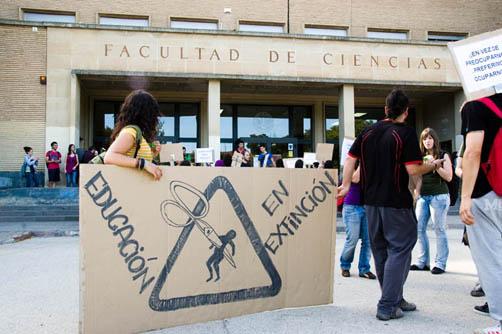 La FABZ apoya la huelga de la enseñanza de mañana y asistirá a la manifestación que se celebra por la tarde