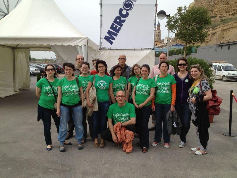 La Marea Verde inquieta a las autoridades de Fraga