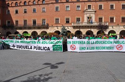 Teruel se manifiesta a favor de la educación pública