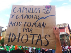 Manifestación Educación Pública Chaca_Foto Arriel Dominguez (AraInfo)