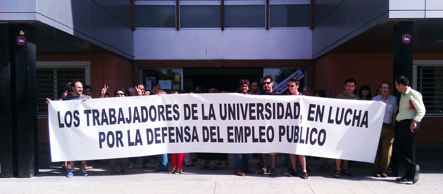 """Siguen las movilizaciones contra el """"recortazo"""" en la Universidad"""