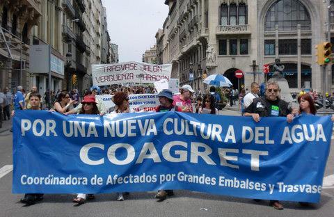 Coagret exige en el Pleno de la Comisión del Agua un cambio radical del Plan de Cuenca
