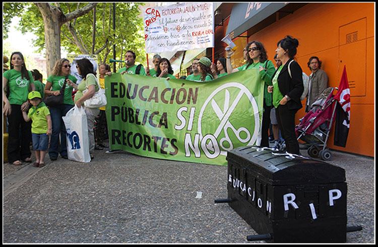 """Marea Verde: """"Convertir la educación en un producto tiene implicaciones nefastas"""""""