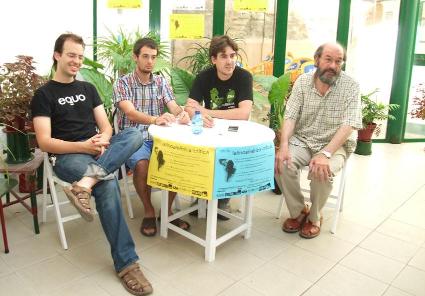 Comienza en Uesca el ciclo «Latinoamérica Crítica»
