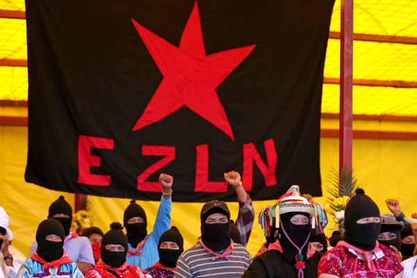 """Convocan en Zaragoza una concentración en solidaridad con el EZLN en el 25 aniversario del """"alzamiento"""" zapatista"""