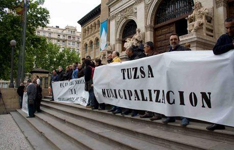 El conflicto de la gestión de TUZSA continúa abierto hasta que no se pronuncie el Tribunal Supremo