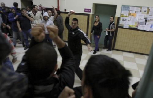 Agresión neonazi en un acto en la Universidad de Zaragoza