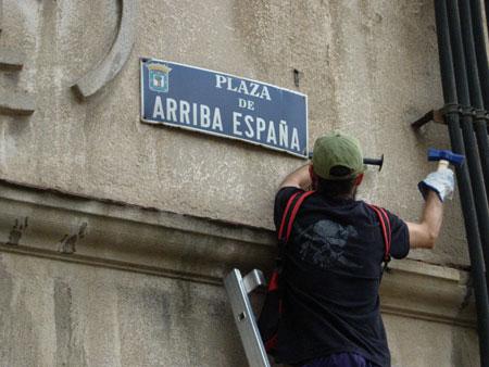 IU reclama que se cumpla la Ley de la memoria histórica en todo el territorio aragonés
