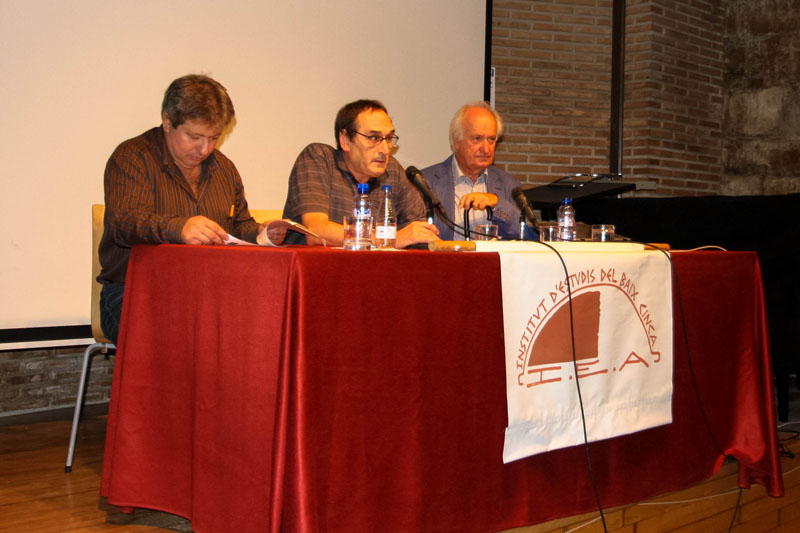 "O manifiesto d'Aragón Trilingüe se presienta en Fraga, en a bastida d'a Chornada ""Cinga Fòrum 2012″"