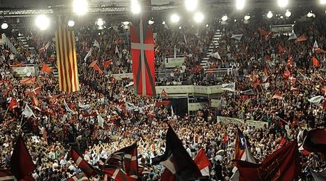 Puyalón asistió al acto de EH Bildu en el BEC