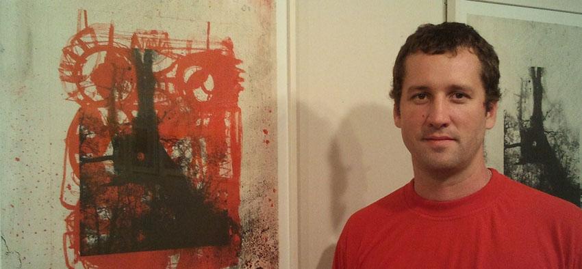 Iñaki Rifaterra expuso su obra de litografías en el Kultur Etxe Egia de Donostia
