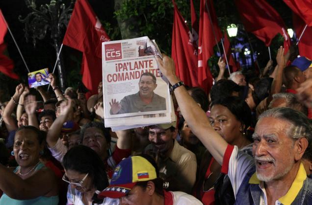 Venezuela con Chávez, pero más allá