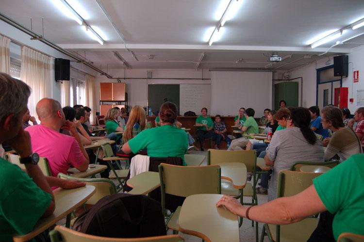 Jornada de lucha por la enseñanza pública en el IES Gallicum de Zuera