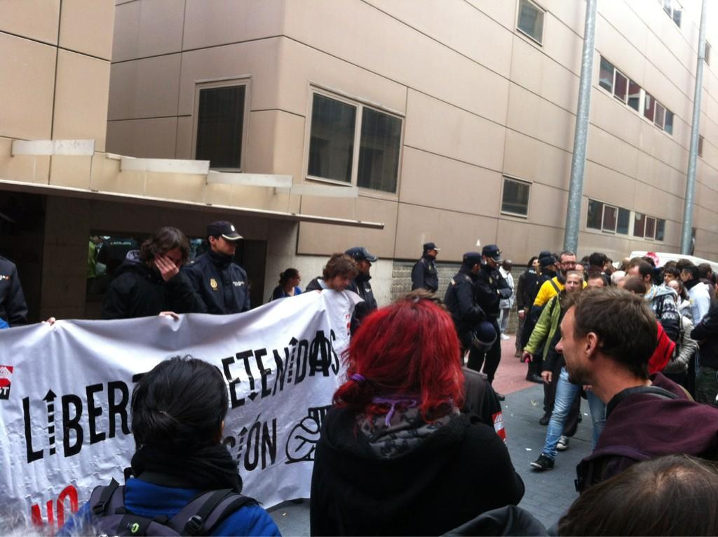 En libertad con cargos las dos personas detenidas en la Vada Cheneral en Zaragoza
