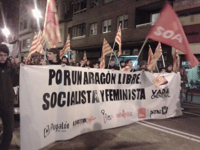 Puyalón valora la Vada Cheneral del 14N como un hito en la movilización social del País
