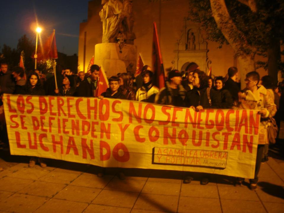 14N Monzón: gran participación de la ciudadanía y las organizaciones sociales