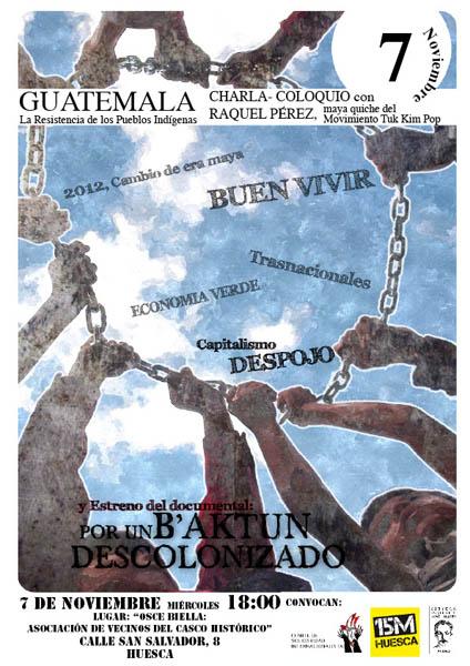 """El paradigna del """"Buen Vivir"""" como esperanza en Guatemala"""