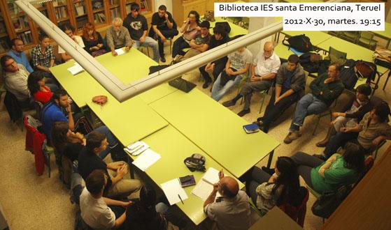 La asamblea de Marea Verde de Teruel se pone en marcha
