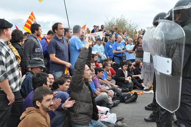 """CHA entregará a """"los 8 de Yesa"""" el premio a la Defensa de los derechos y libertades de Aragón"""