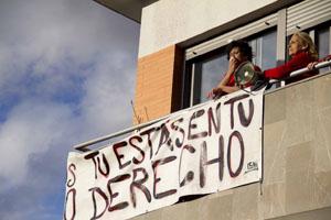 """Solidaridad con la corrala """"La Utopía"""" de Sevilla"""