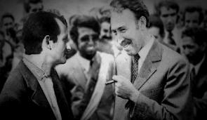 Antonio Cubillo, fundador del Movimiento por la Autodeterminación e Independencia del Archipiélago Canario (MPAIAC), que la tierra te sea leve compañero