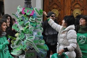 """""""Acción Tupper"""" del pasado 12 de enero. Foto: El Ventano"""