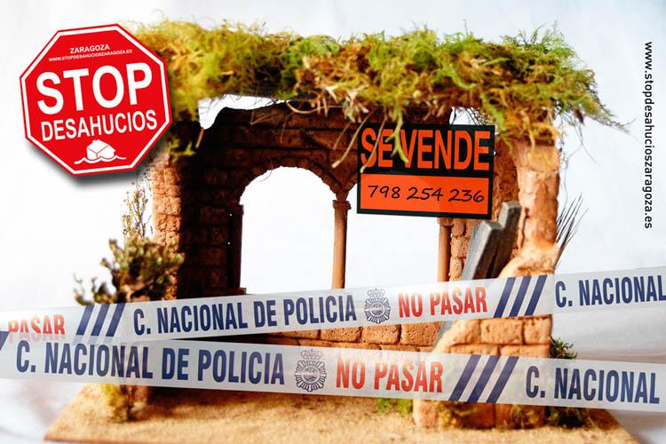 No al desahucio del Portal de Belén. Ven a impedirlo con Stop Desahucios Zaragoza