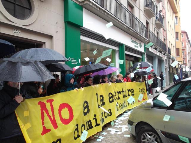 """SOA: """"El Gobierno de Aragón 'se plega' a los intereses de las grandes superficies"""""""