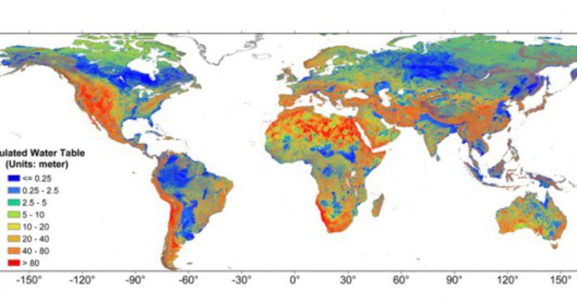 Mapa global de las aguas subterráneas poco profundas | Science