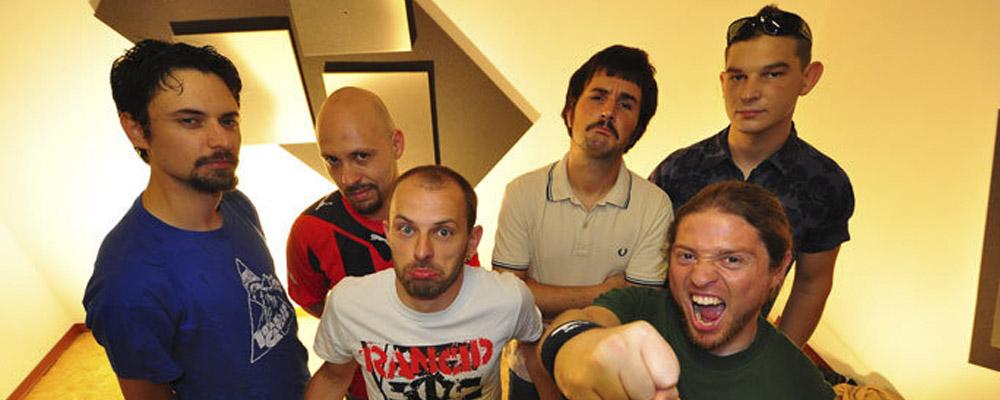 Talco: La banda más fiestera y combativa de Italia en la Sala López acompañados por Gen