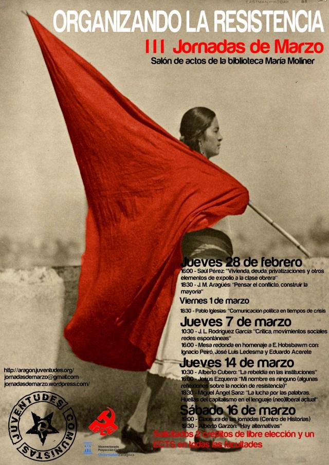 III Jornadas de Marzo «Organizando la Resistencia»