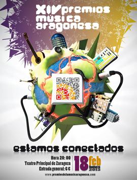 Fendo Orella en os XIV Premios d'a mosica aragonesa