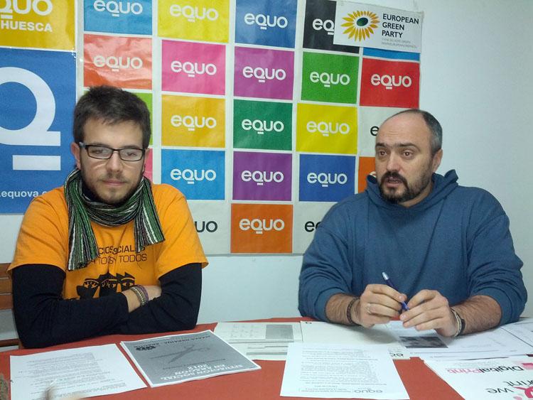 Equo alerta de la actual situación de emergencia social en Aragón