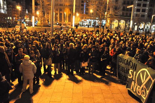 Marea Verde apoya y anima a secundar la huelga de estudiantes de los días 5, 6 y 7 de febrero