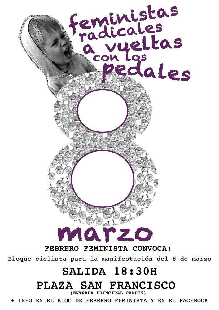 Actos reivindicativos para el 8 de marzo en Aragón
