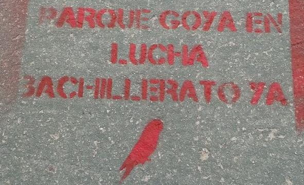 IU exige a Educación la implantación de los estudios de Bachillerato en el IES Parque Goya