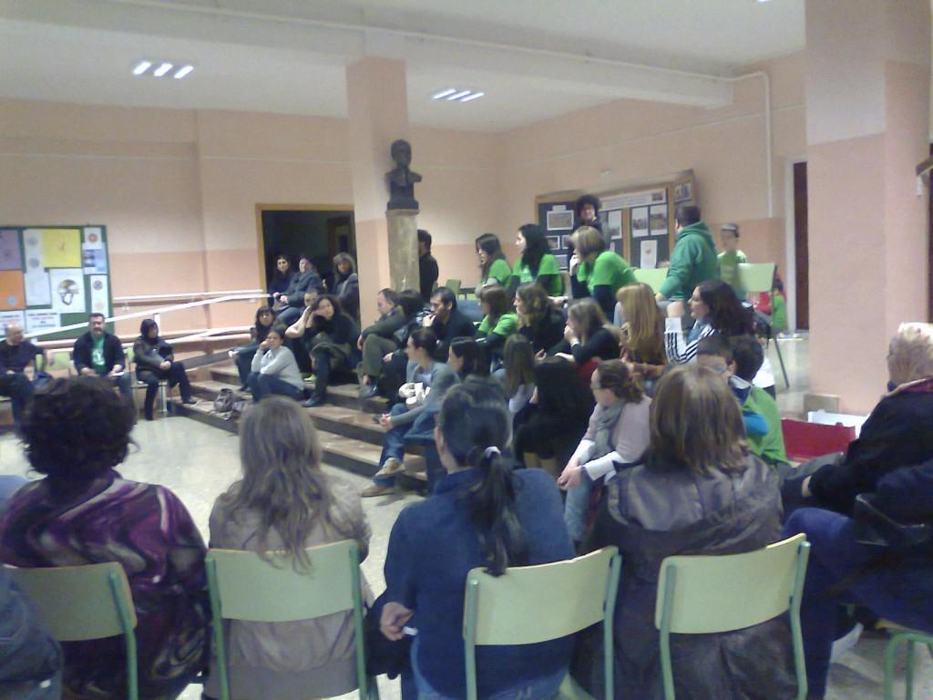 Asamblea de la comunidad educativa de Caspe – Baix Aragó