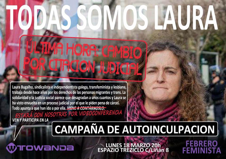 Conversaciones con Laura Bugalho en las jornadas Febrero Feminista