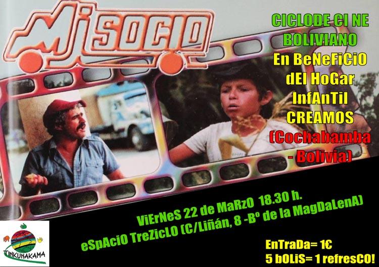 Nueva sesión de cine en beneficio del hogar infantil Creamos de Cochabamba