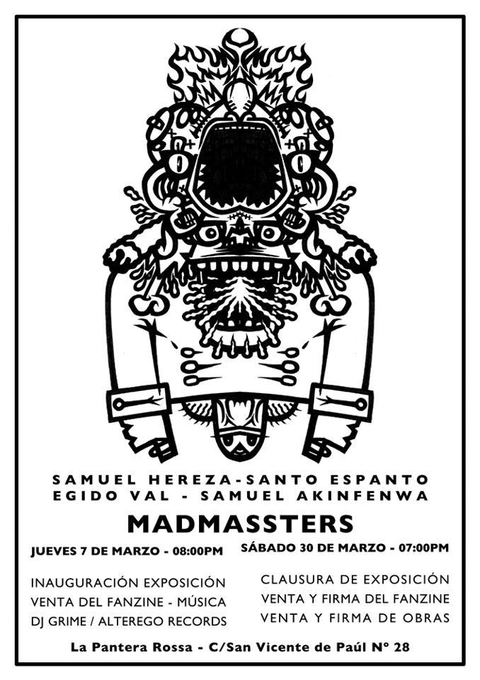 Madmassters 2013: Arte plástico para revolverte los ojos… y el cerebro