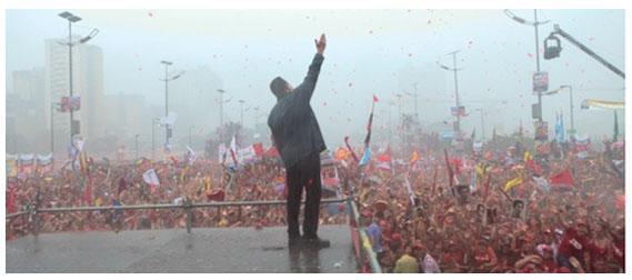"""Círculo Solidario José Martí de Uesca: """"Hasta siempre Chávez"""""""
