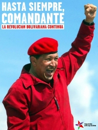 IZAN: «Solidaridad con el pueblo venezolano ante la muerte de Hugo Chávez»