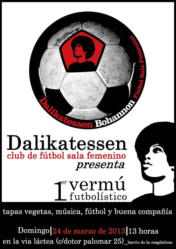 El equipo de fútbol sala femenino Dalikatessen organiza un vermú para autogestionarse